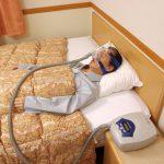 睡眠時無呼吸症候群の検査イメージ